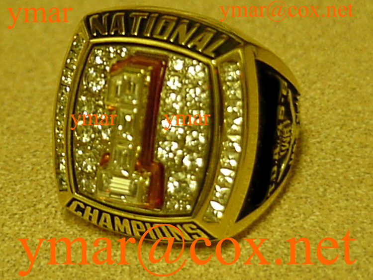 The 2005 Texas National Championship Players 10K Ring
